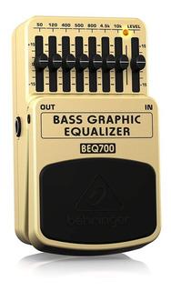 Behringer Beq700 Ultimate Ecualizador Gráfico De Bajos