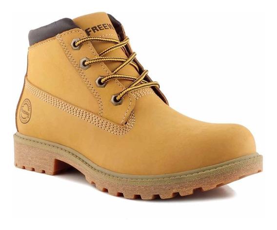 Borcegos Mujer Botas Cuero Freeway Zapatos Goma Mcbo24882