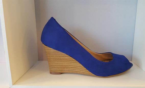 Pepetoe Couro Nobuk Azul