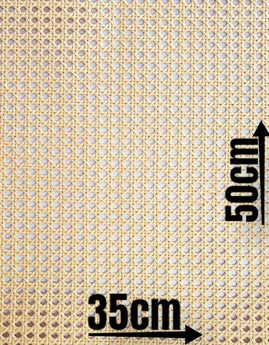 Palhinha Indiana Tela Rattan Palha India Peça Unica 50x35cm