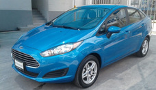 Ford Fiesta 1.6 Se Sedan Mt Abs Ac Ba Qc Ra 2017 Azul