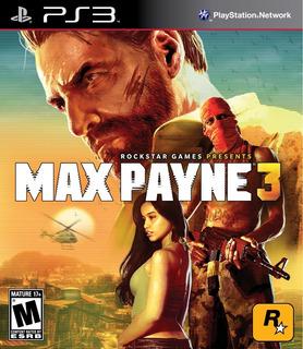 Max Payne 3 Ps3 Nuevo Envío Rápido Detalle En Caja
