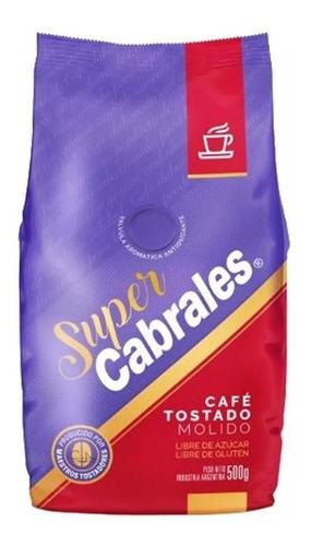Cafe Molido Super Cabrales 500gr Tostado