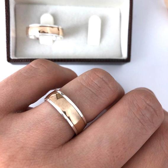 Alianças De Casamento Em Ouro Noivado Prata Garantia Eterna
