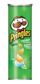 Pringles Crema&cebolla X124g