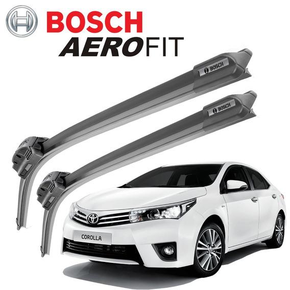 Palheta Limpador Parabrisa Bosch Aerofit Toyota Corolla 2015