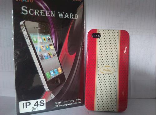 Forro Para iPhone 4/4s  (combo) Oferta! Benacell