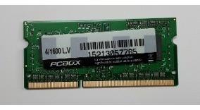 Memoria Sodimm Ddr3 2gb 1600mhz Pcbox Lv (2/1600lv)