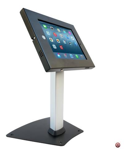 Imagen 1 de 6 de Atrio Kiosko Pedestal Base Seguridad Antirrobo iPad Pro 9.7