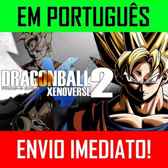 Dragon Ball Xenoverse 2 + Update - Pc Jogo Completo