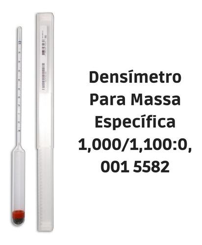 Imagem 1 de 1 de Densímetro Para Massa Específica 1,000/1,100:0,001 5582