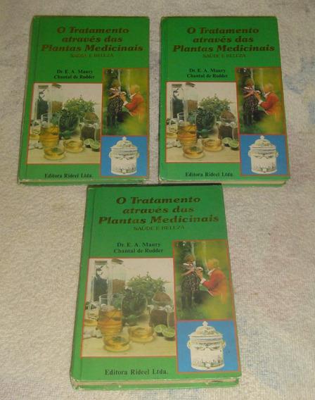 Livro O Tratamento Através Das Plantas - Volume 1,2,3.