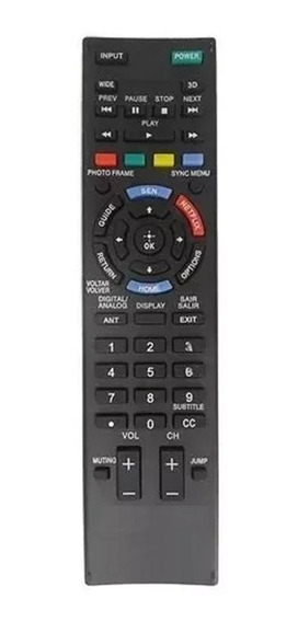 Controle Remoto Para Tv Sony Bravia Lcd Led Rm-yd101 Netflix