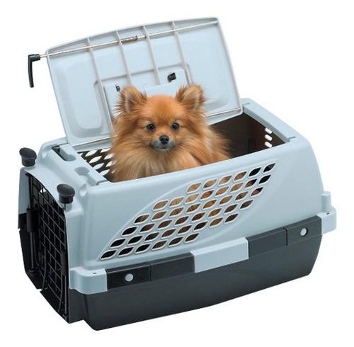 Imagen 1 de 6 de Transportadora Pet Suite 23 Doble Puerta 57x38x32