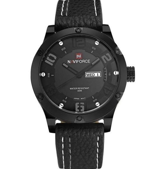 Relógio Masculino Naviforce 9070 De Pulso Original Barato