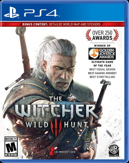 Jogo The Witcher 3 Playstation 4 Ps4 Lacrado