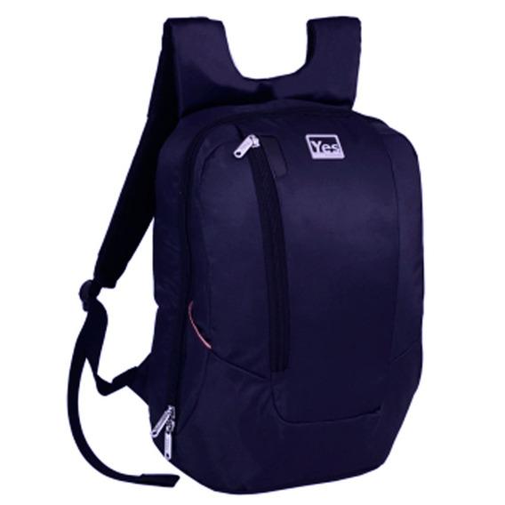 Mochila Para Notebook Premium Azul Yes Mc1518n