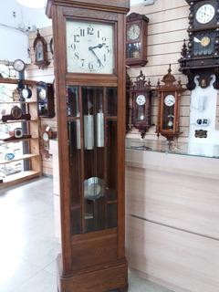 Relógio Antigo Carrilhão De Chão Gustav Becker Westminster