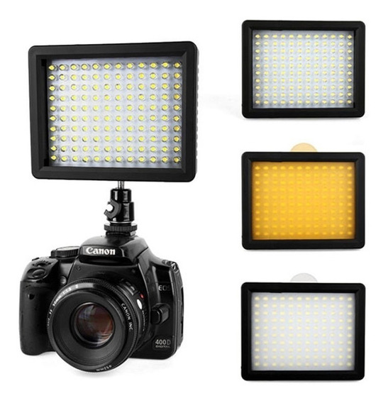Iluminador Led W-160 Wansen 160 Leds Canon Nikon Sony...etc
