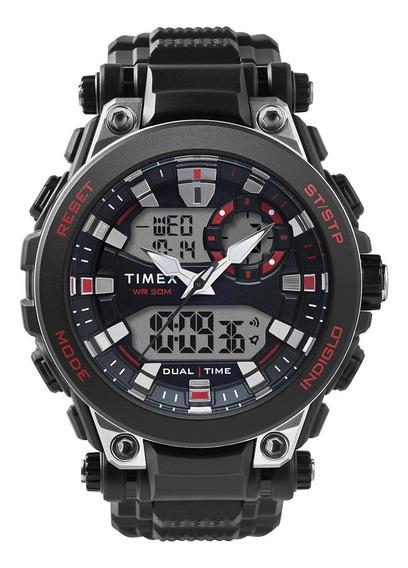 Reloj Hombre Deportivo Timex Tw5m30800 Caballero Luz Indiglo