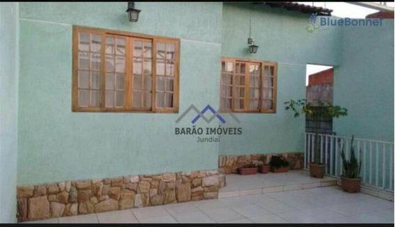 Casa Residencial À Venda, Jardim Marambaia, Jundiaí. - Ca0195
