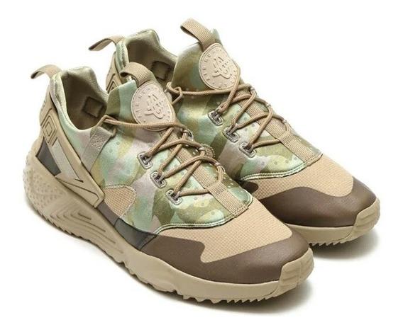 Zapato Nike Hurache Utility Kaki/kaki/aceituna Made In China