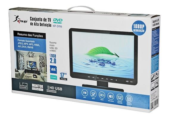 Conjunto De Tv E Monitor De Alta Definição Knup Kpd116