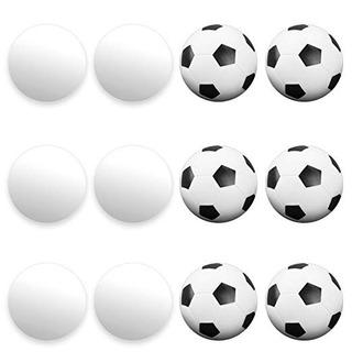 12 Pack De Foosballs Mixtos - Estándar De Foosball Tablas &