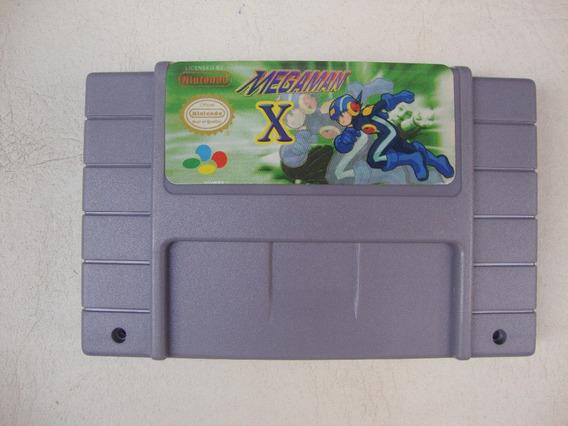 Mega Man X Paralelo Para Super Nintendo