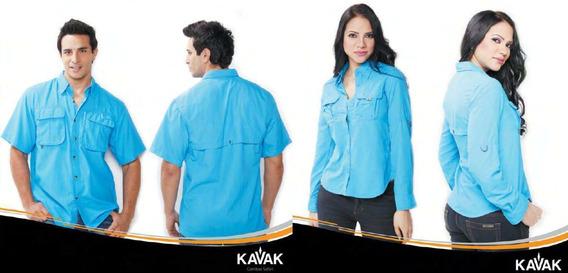 Oferta Camisas Kavak Dama Y Caballero Uniformes Bordados