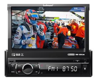 Radio Carro Pantalla 7 Tactil Motoriz. Dvd Bluetooth Usb Aux