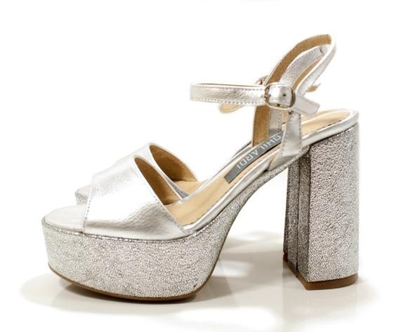 Sandalia Zapato Mujer Elegant Fiesta Diseño Lola By Ghilardi