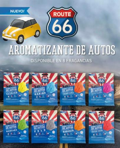Arimatizante En Pastilla P/autos Ruta 66 By Saphirus