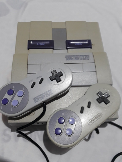 Vídeo Game Super Nintendo Super Nes