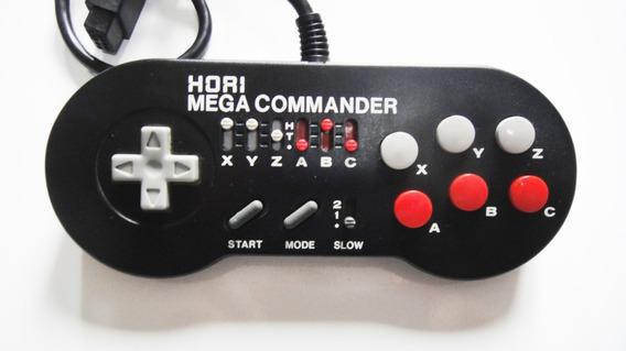 Controle Turbo Hori Mega Commander Original Para Mega Drive