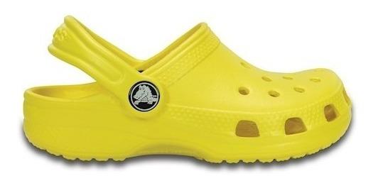 Crocs Sandalia Crocband Classic Original Amarelo