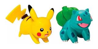 Pokemon Muñecos Figuras X 2 Original