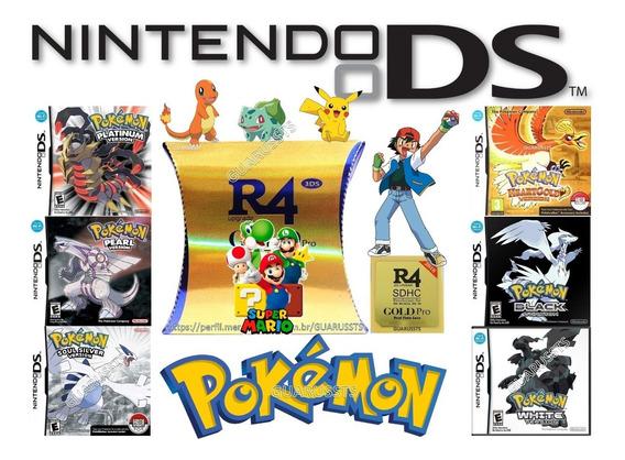 Jogos Para Nintendo Dsi, Ds Xl, Ds Lite Compatível 2ds E 3ds