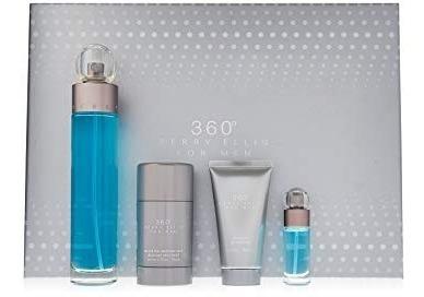 Perfume Perry Ellis 360 Set Hombre 2 Presentaciones