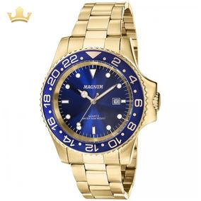 Relógio Magnum Masculino Ma31328a Com Nf