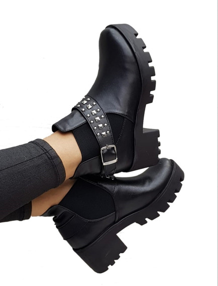 Botines De Mujer Con Taches Liverpool Outfit Cool
