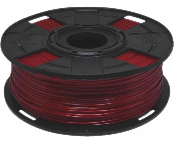 Filamento Pla Vermelho Basic 1,75 Mm 500g 3d 3dfila