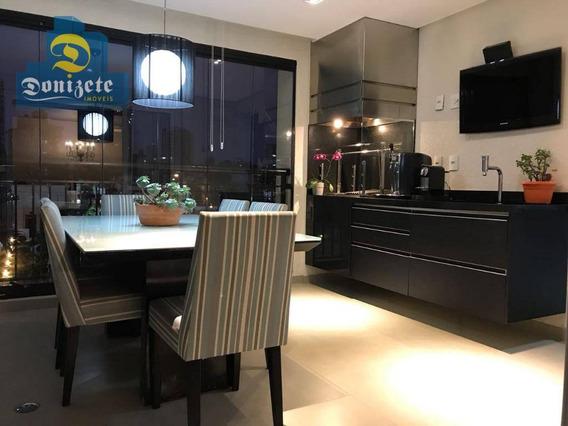 Apartamento À Venda, 162 M² Por R$ 1.530.000,00 - Jardim Bela Vista - Santo André/sp - Ap9771