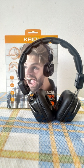 Headphone Kaidi Kd807 Novo