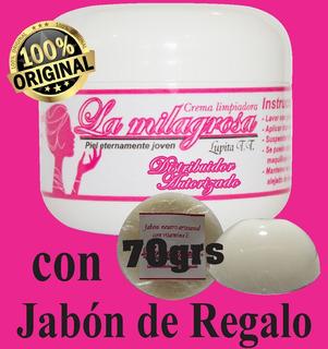 Crema Milagrosa-etiqueta Tradicional Con Jabón Por $206