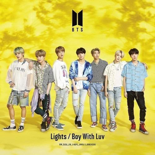 Bts Lights /boy With Luv Videos Cd+dvd Importado 2019