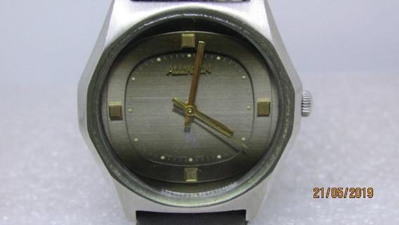Relógio Allwyn. Corda Manual. Caixa Diferenciada. Ref 562