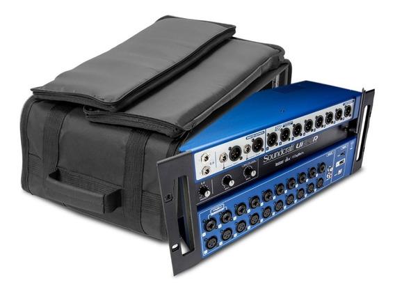 Mesa Som Digital Soundcraft Ui24r Nf-e Garantia 1ano