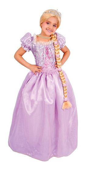 Disfraz De Princesa Rapunzel Carnavalito -d499