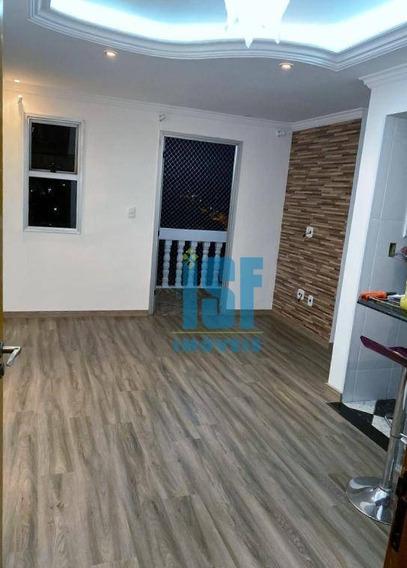 Apartamento Com 2 Dormitórios À Venda, 58 M² Por R$ 250.000 - São Pedro - Osasco/sp - Ap24764. - Ap24764